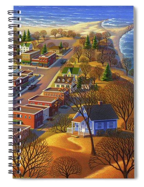 Blueberry Cottage Hill  Spiral Notebook