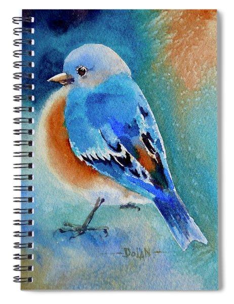 Bluebird #4 Spiral Notebook