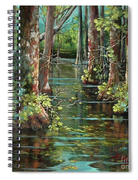 Bluebonnet Swamp Spiral Notebook