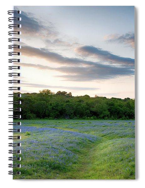 Bluebonnet Trail Ennis Texas 2015 V5 Spiral Notebook