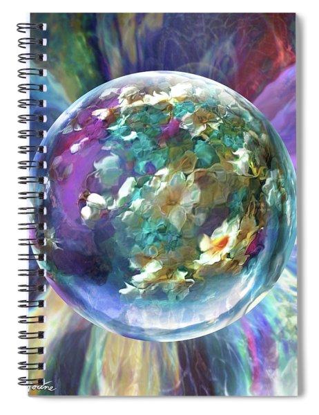 Blues Bouquet  Spiral Notebook