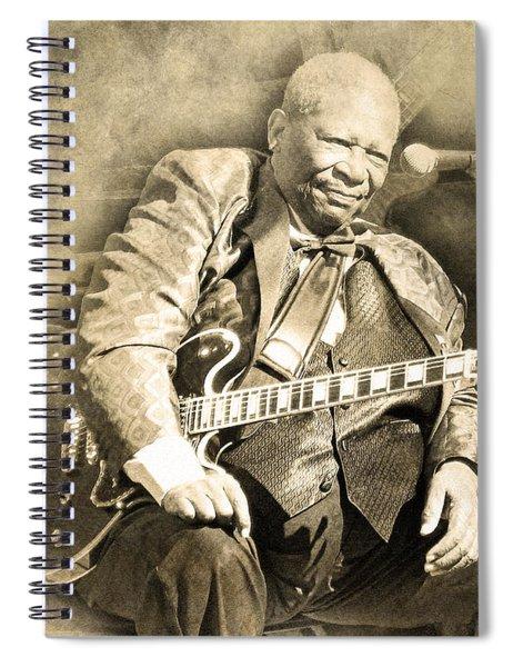 Blues Boy Spiral Notebook