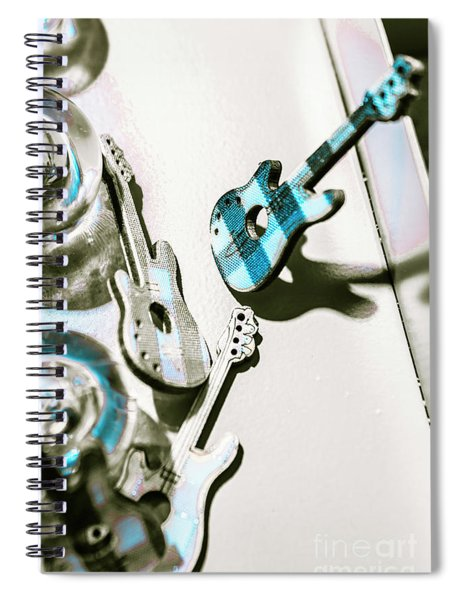 Blues Jam Session Spiral Notebook