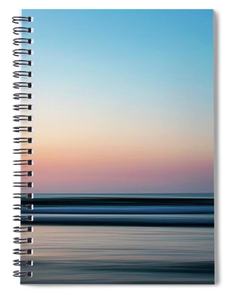 Blurred Spiral Notebook