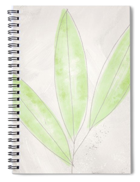 Blush Bamboo- Art By Linda Woods Spiral Notebook