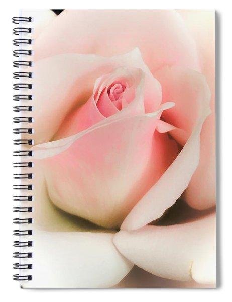 Blushing Petals Spiral Notebook