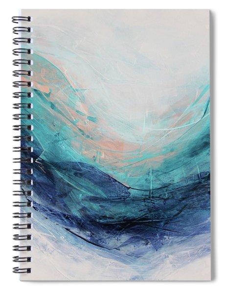 Blushing Sky Spiral Notebook
