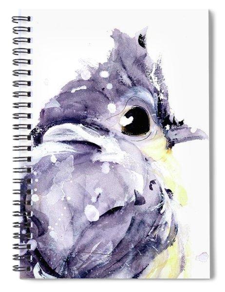 Blustery Spiral Notebook