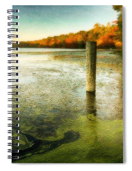Blydenberg Park In The Fall Spiral Notebook
