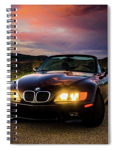 Bmw Z3 Spiral Notebook