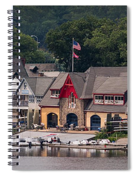Boathouse Row Philadelphia Pa  Spiral Notebook