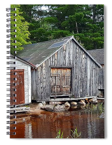 Boathouses - Mcadam Nb Spiral Notebook