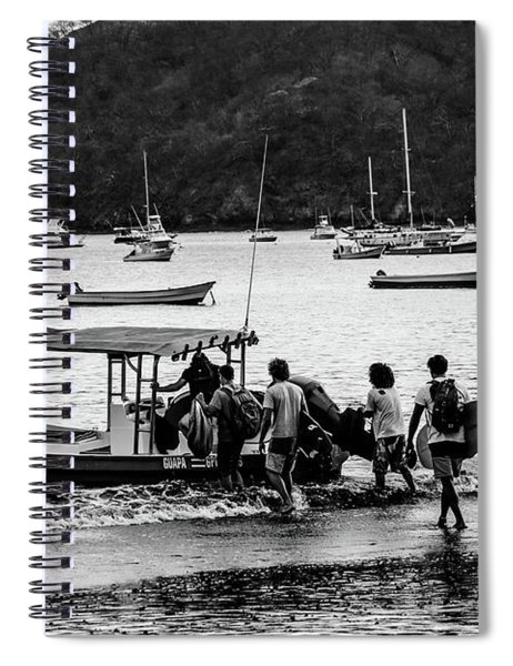 Boats And Boards  Spiral Notebook