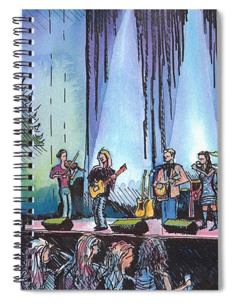 Bob Dylan Tribute Show Spiral Notebook