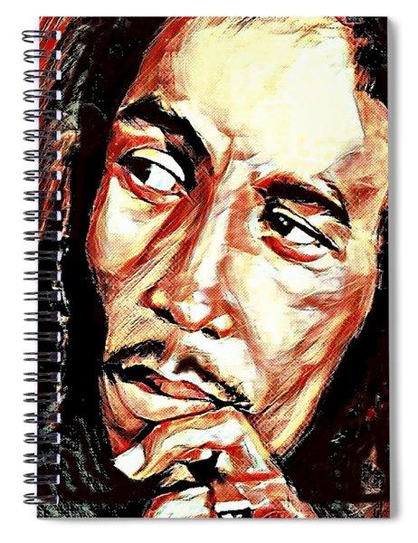 Bob Marley Spiral Notebook