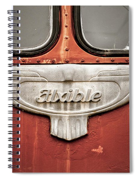 Bob Wills And His Texas Playboys Tour Bus Spiral Notebook