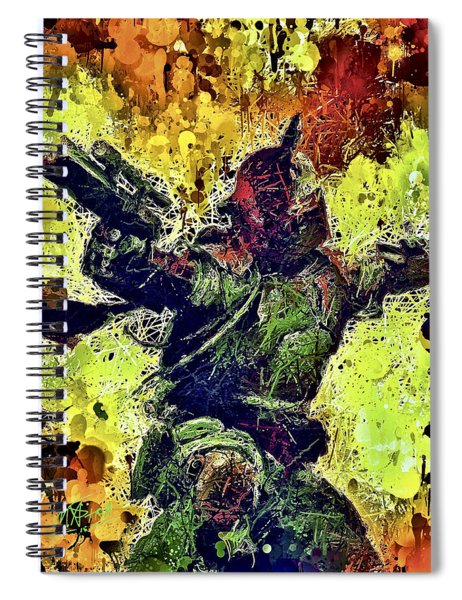 Boba Fett Spiral Notebook