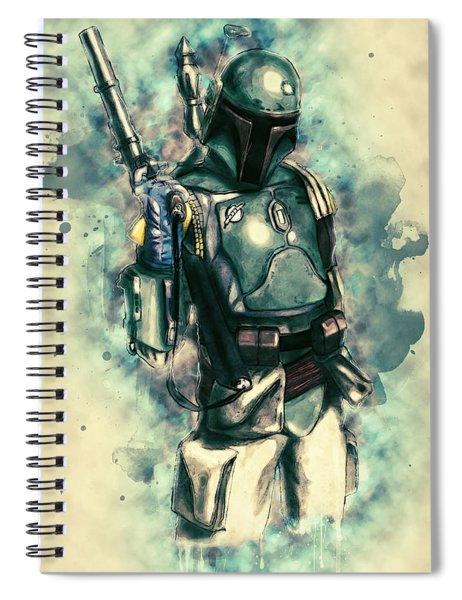 Boba Fett Spiral Notebook