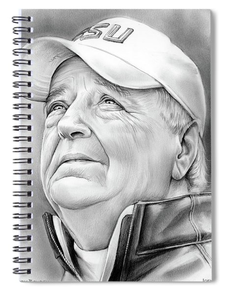 Bobby Bowden Spiral Notebook