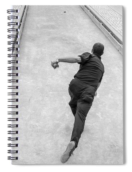 Bocce Ball Spiral Notebook