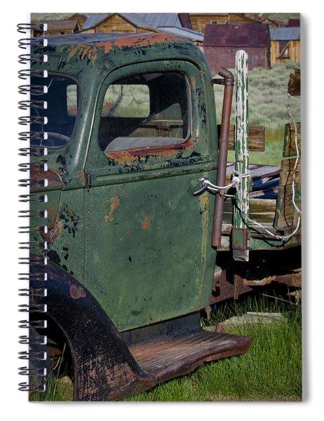 Bodie 3 Spiral Notebook