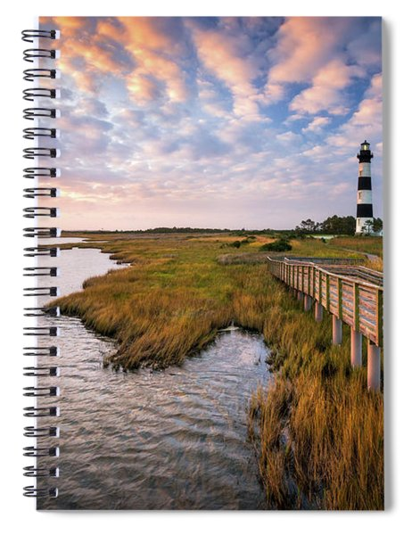 Bodie Island Lighthouse Outer Banks North Carolina Obx Nc Spiral Notebook