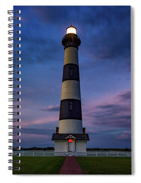 Bodie Island Twilight  Spiral Notebook