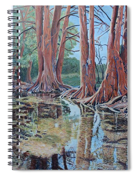 Boerne River Scene Spiral Notebook