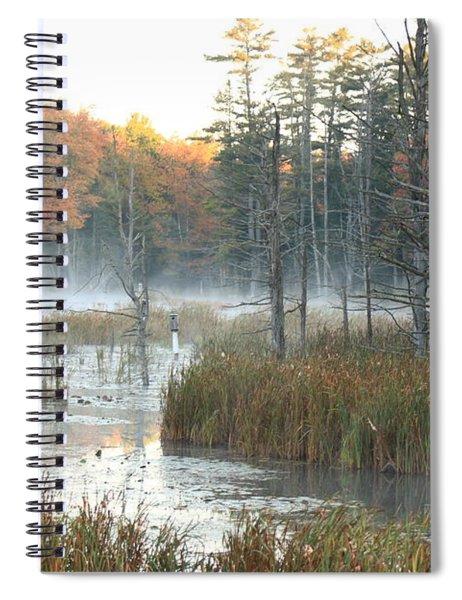 Bog Fog Spiral Notebook
