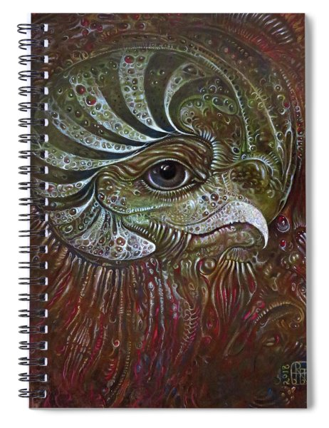 Bogomils Avatar Revisited Spiral Notebook