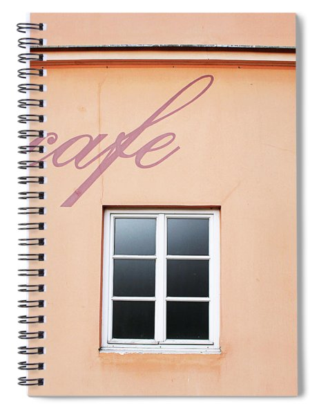 Bohemian Cafe- By Linda Woods Spiral Notebook