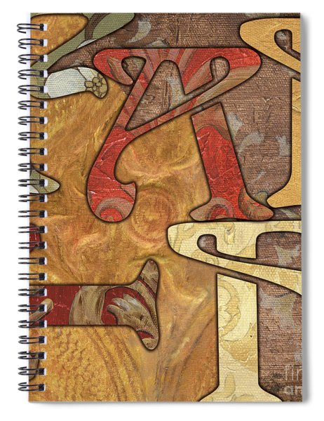 Bohemian Faith Spiral Notebook