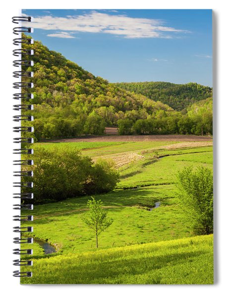 Bohemian Valley Spiral Notebook