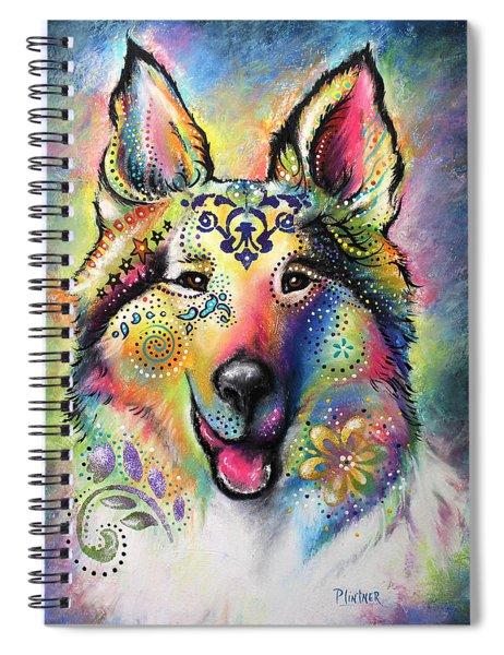 Collie Spiral Notebook