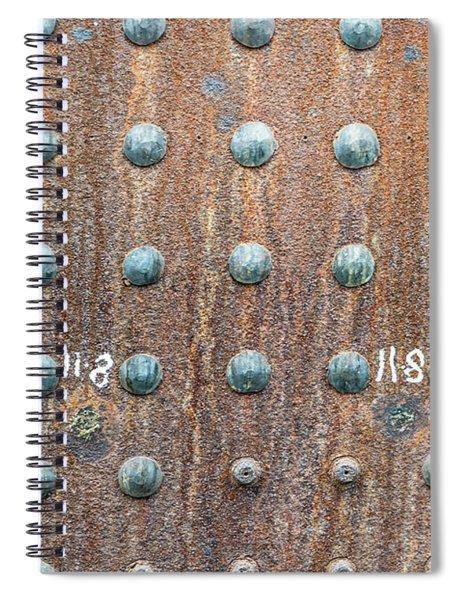 Boiler Rivets Spiral Notebook