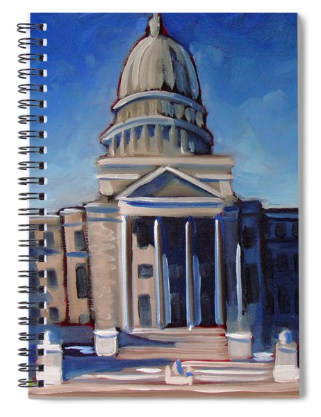 Boise Capitol Building 02 Spiral Notebook