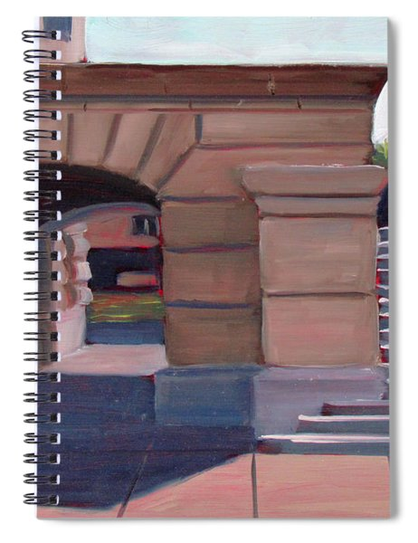 Boise Capitol Building 04 Spiral Notebook