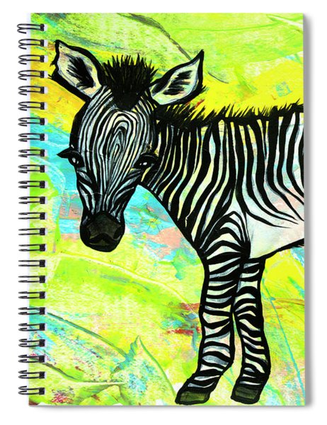 Bold And Bright Spiral Notebook