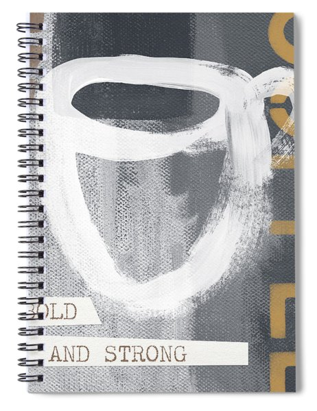 Bold And Strong- Art By Linda Woods Spiral Notebook