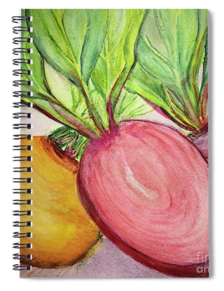 Bold Beets Spiral Notebook