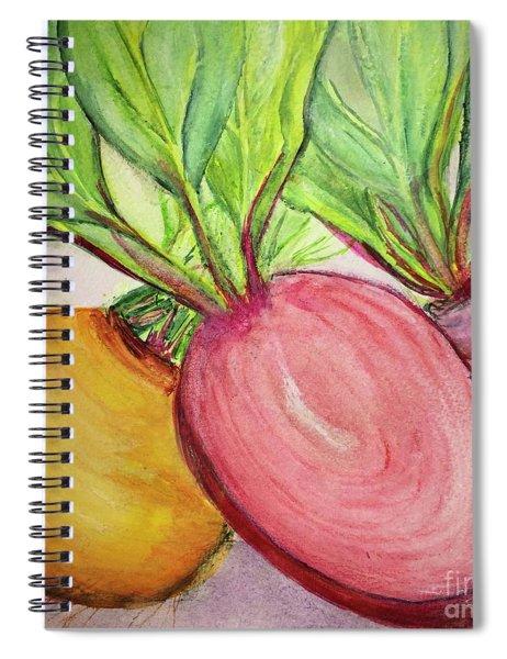 Bold Beets Spiral Notebook