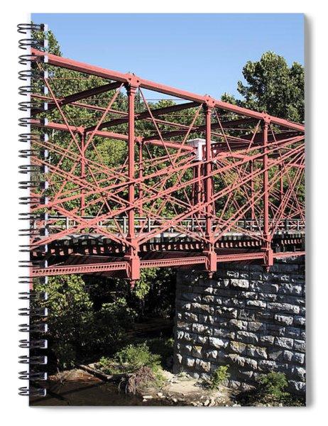 Bollman Truss Bridge At Savage In Maryland Spiral Notebook