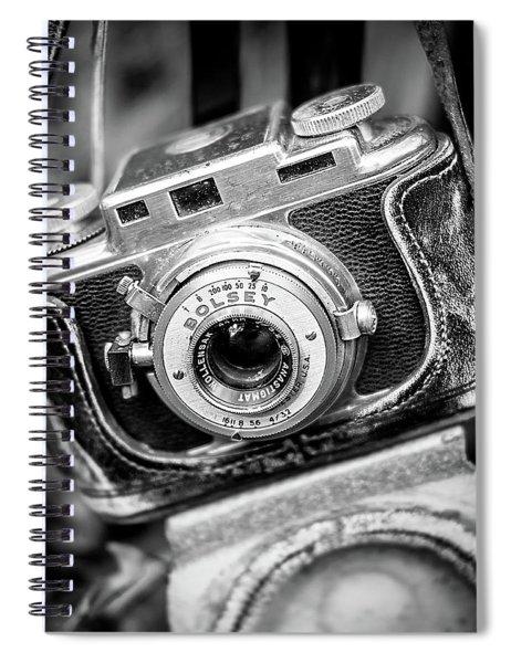 Bolsey B Rangefinder Camera Spiral Notebook