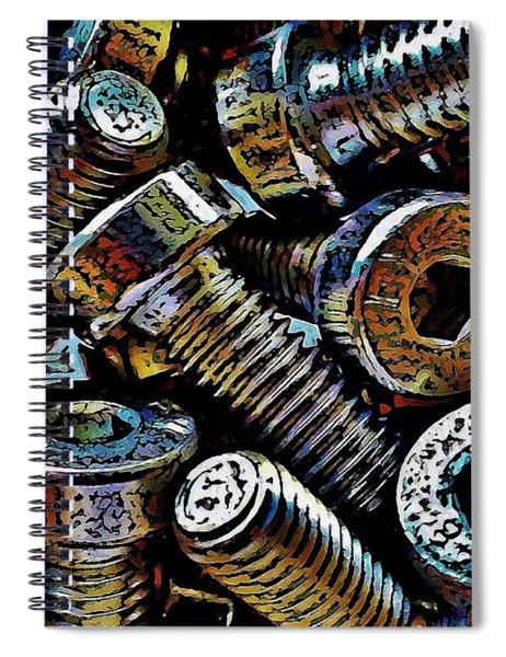 Boltz Spiral Notebook