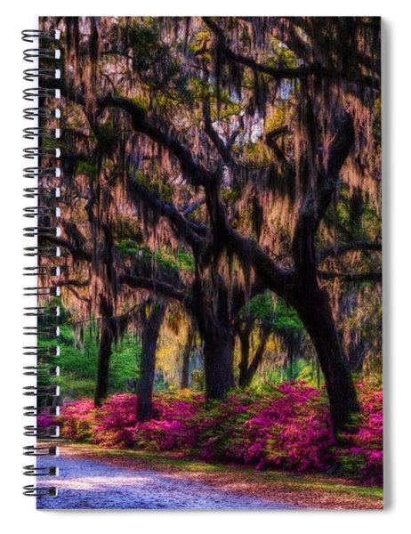 Bonaventure Cemetery II Spiral Notebook