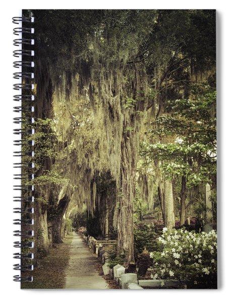 Bonaventure Cemetery Lane Spiral Notebook