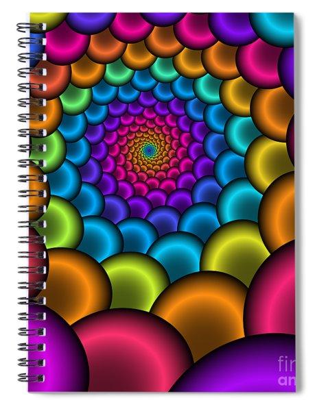 Bonbon Funnel 221 Spiral Notebook