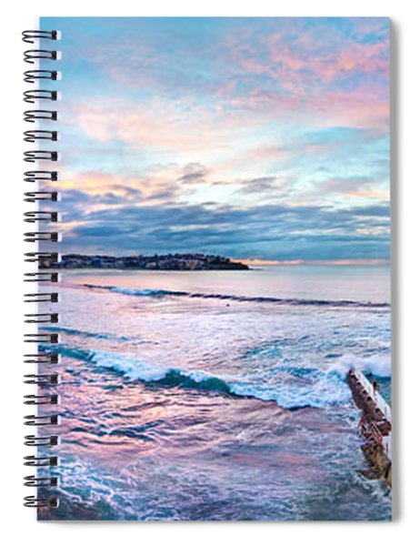Bondi Beach Icebergs Spiral Notebook