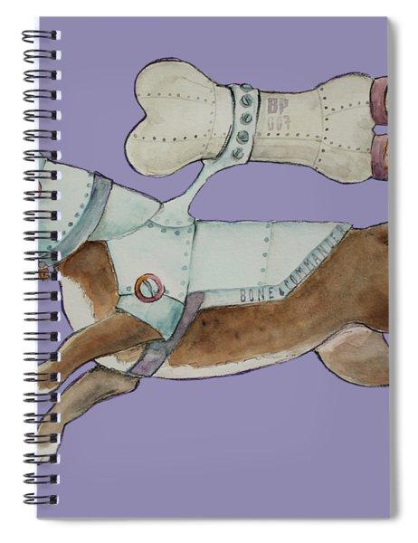 Bone Commander Spiral Notebook