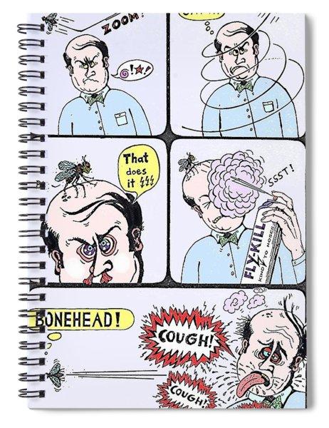 Bonehead Spiral Notebook